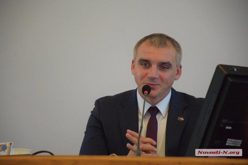 У мэра Николаева Сенкевича есть долг за квартплату (ВИДЕО)