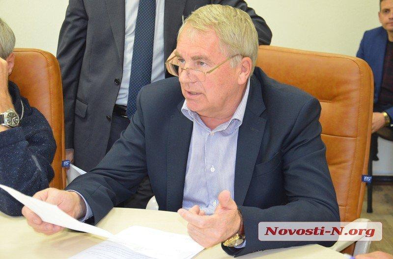 Директор «Николаевэлектротранс» Владимир Евтушенко подал заявление на увольнение