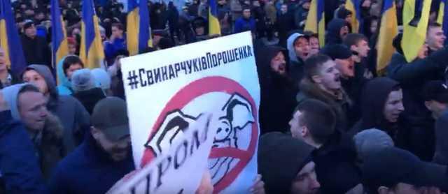 Порошенко назвал негодяями людей требовавших ареста Гладковского