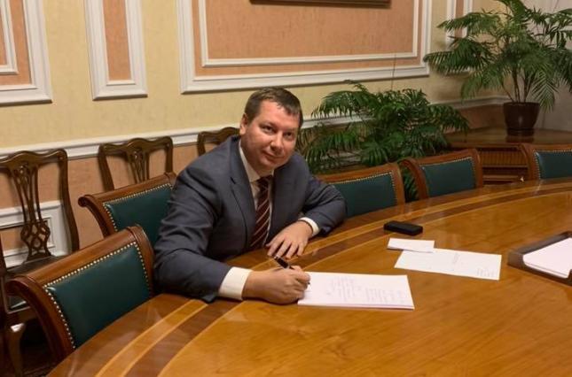 Глава Херсонской ОГА написал заявление об отставке
