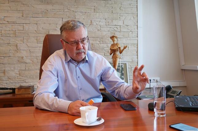 Гриценко провел встречу с кандидатом в президенты Зеленским