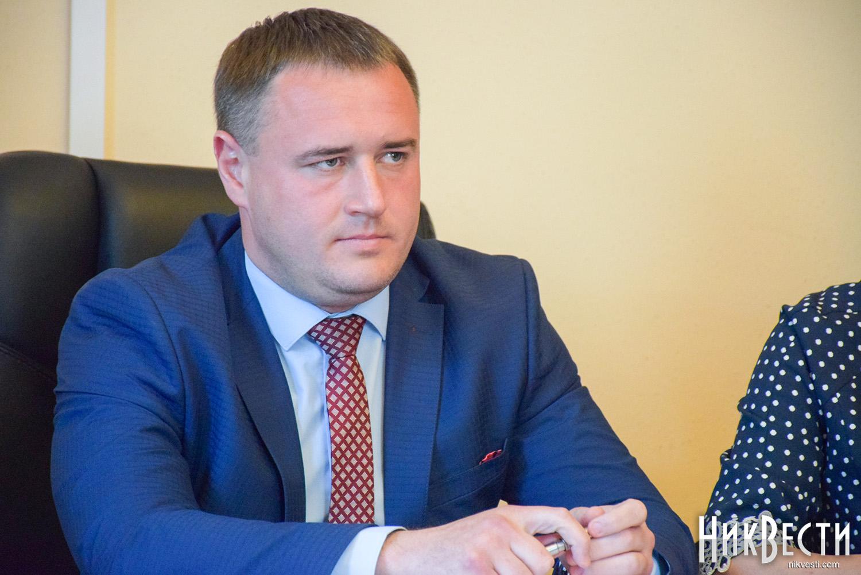 Уволенный вице-губернатор Шевченко готовит пресс-конференцию в Киеве