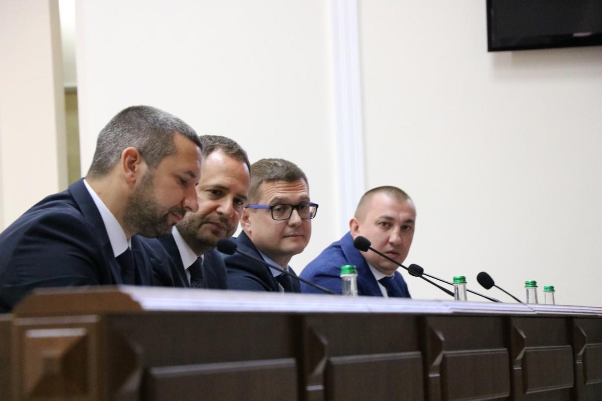 Как представили новых глав ОГА и СБУ Николаевщине