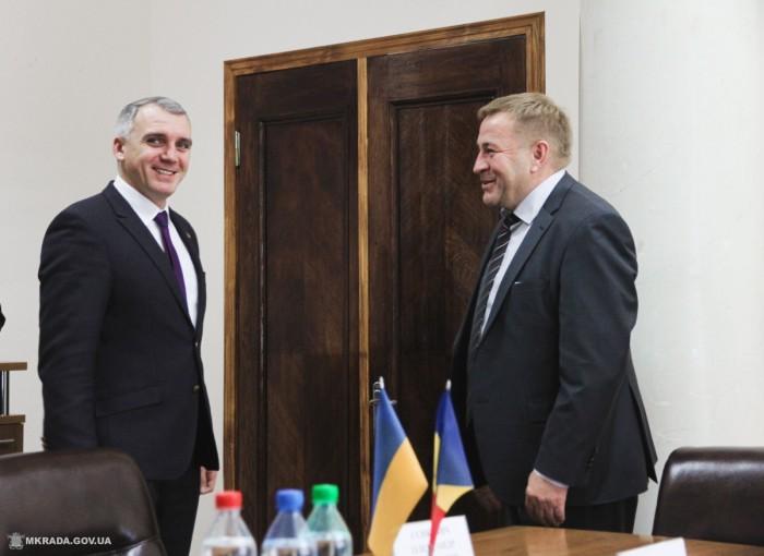Мэр Николаева встретился с руководителем консульства Республики Молдова
