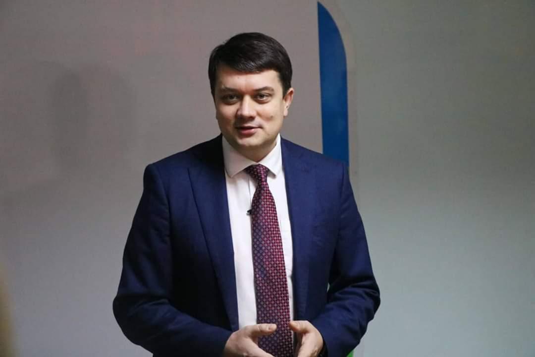 До Миколаєва завітав Дмитро Разумков: де був і про що говорив голова Верховної Ради