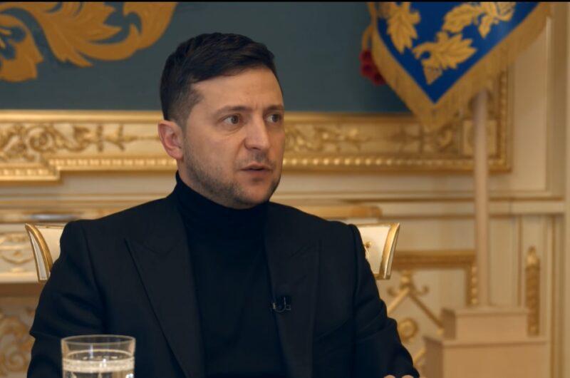 Зеленский признался, что встречался с разведкой Великобритании