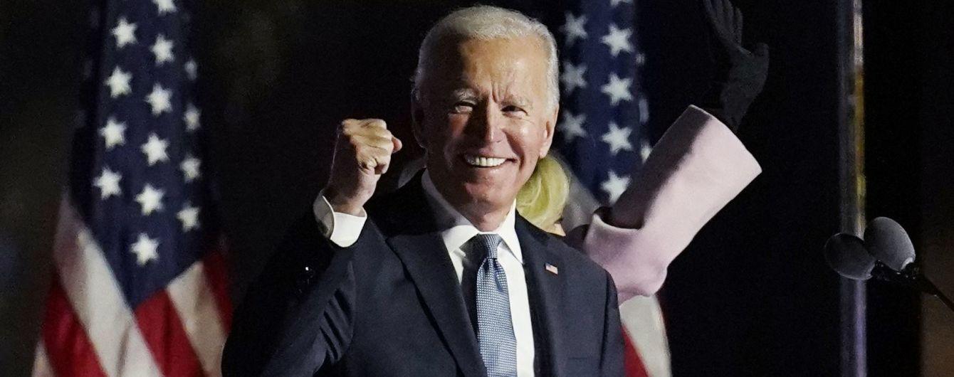 Байден заявил, что уверен в своей победе на выборах президента США