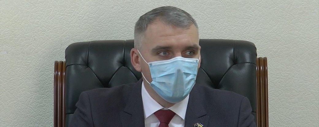 У мэра Николаева Сенкевича обнаружили COVID-19