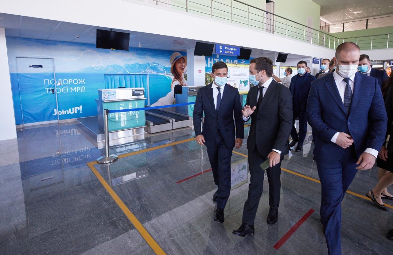 Зеленский: после приземления в аэропорту «Полтава» подумал, что это последняя поездка в жизни