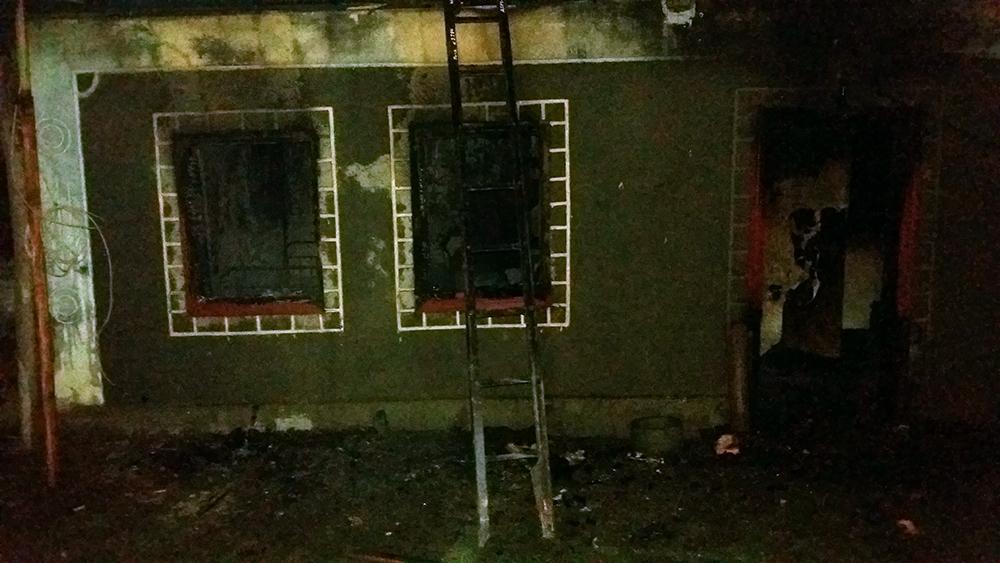 В Кривом озере в пожаре погиб мужчина