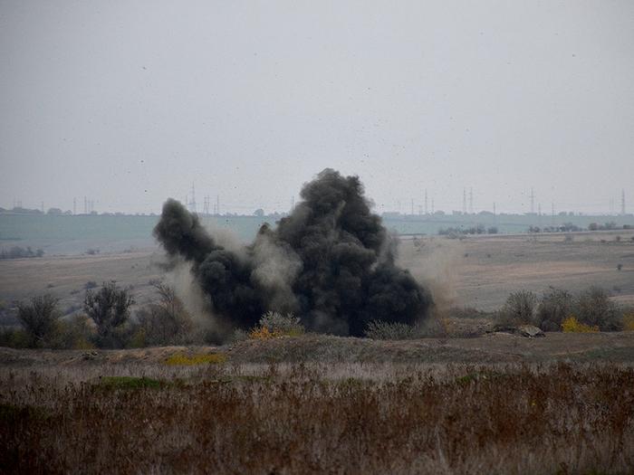 В Андреевке Николаевской области нашли 65 снарядов и бомб