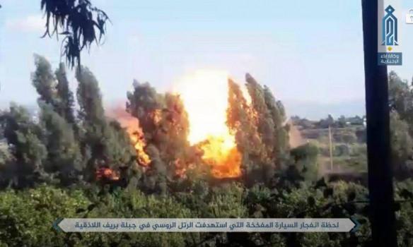 В Сирии боевики заявили о подрыве колонны военных РФ возле базы Хмеймим