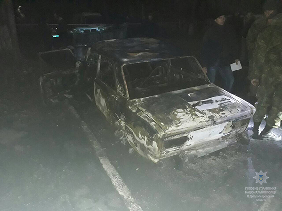 В Днепропетровской области полицейских обстреляли из РПГ