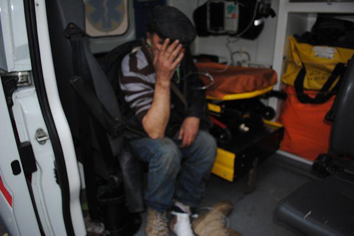 В Николаеве пожарные спасли мужчину