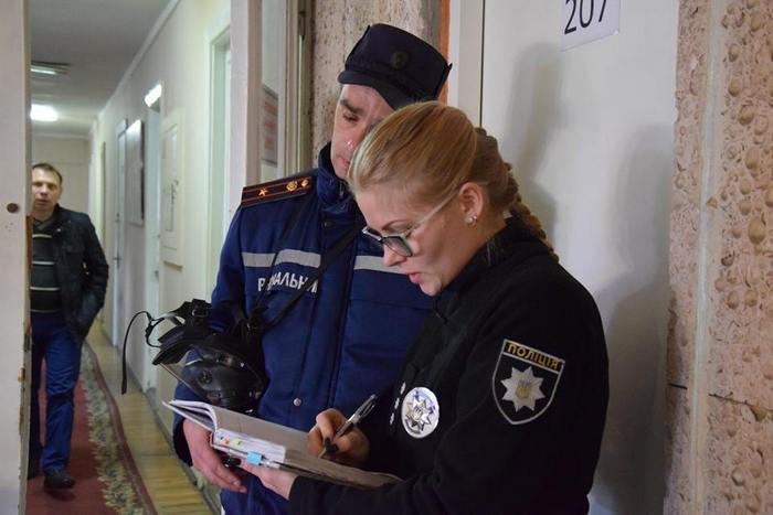 В Николаевску ОГА поступил «опасный» конверт
