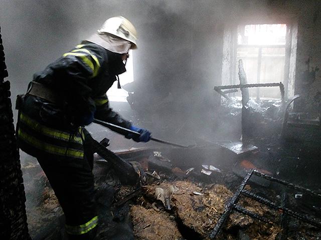 За сутки в Николаевской области при пожаре погиб человек, 2-х летняя девочка в тяжелом состоянии