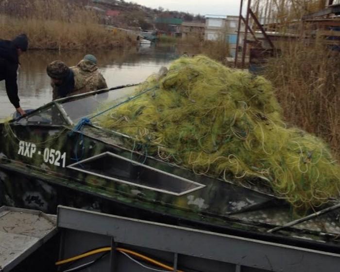 Рибним браконьєрам із Очакова інкримінують 20 млн. грн. збитків