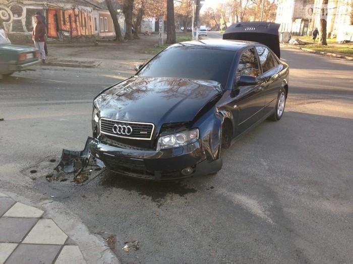 ДТП на Спасской и Шнеерсона. Один из водителей доправлен в больницу