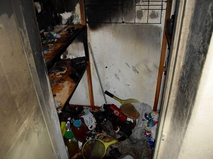 Подросток чуть не сжег квартиру на ул. Соборной (ФОТО)