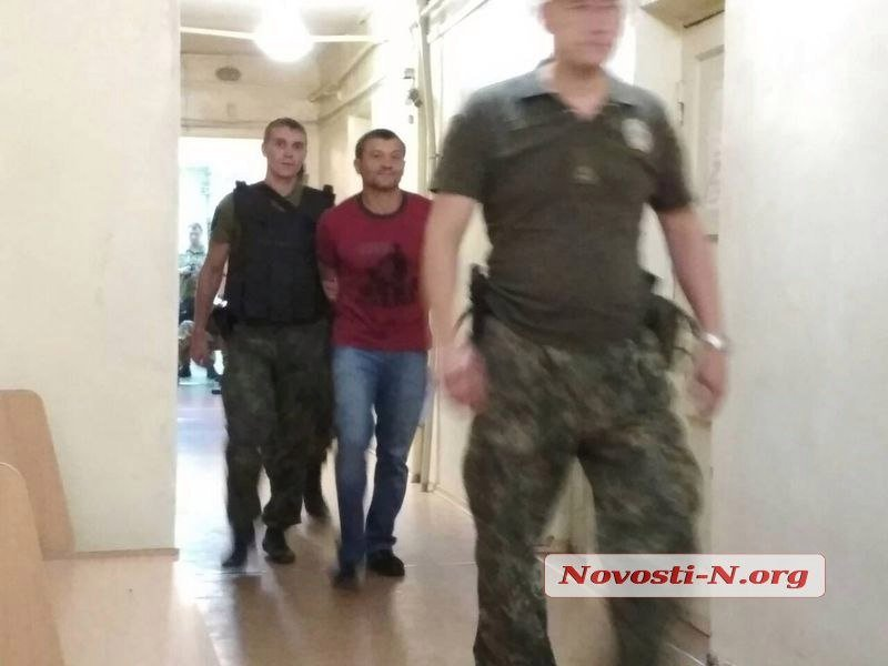 Суд продлил арест николаевскому бизнесмену Титову по делу «мультика»