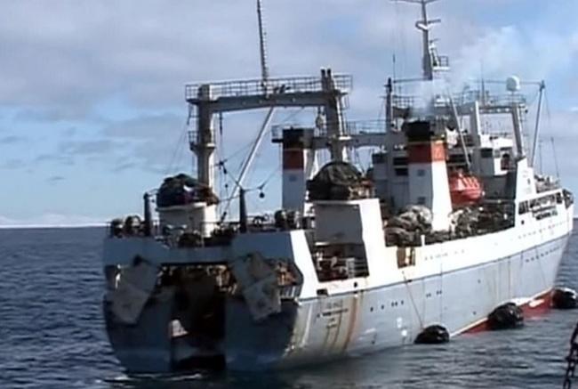В Японском море пропало российское судно, на борту были украинцы