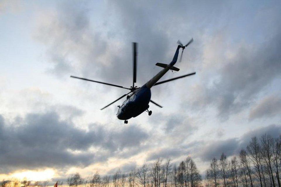 В Кременчуге разбился вертолёт