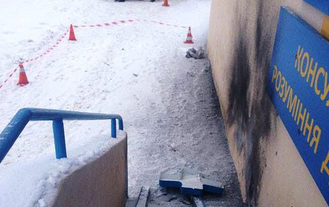 В Харькове произошел взрыв возле супермаркета, есть пострадавшие