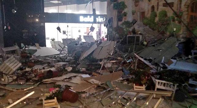 В торговом центре Минска обвалился потолок