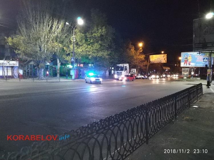 Ночью в Корабельном районе Николаева перекрыли движение: транспортировали