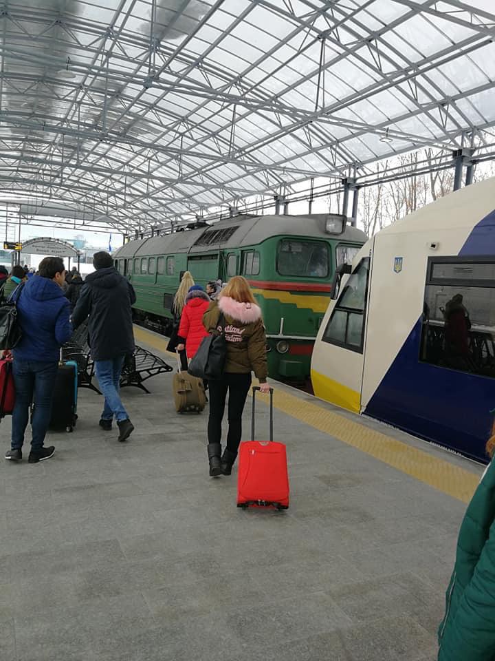 В Киеве произошло новое ЧП с экспрессом в ''Борисполь''