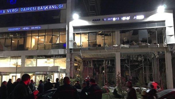 В Анкаре произошел мощный взрыв