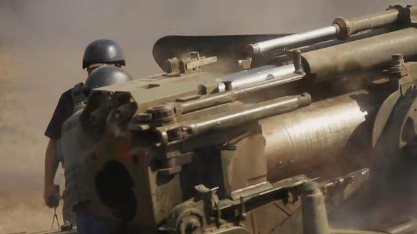 Боевики применили запрещенную артиллерию против ВСУ