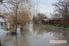 Уровень воды в николаевских реках поднялся больше чем на метр – затоплены Намыв и пляж «Стрелка»