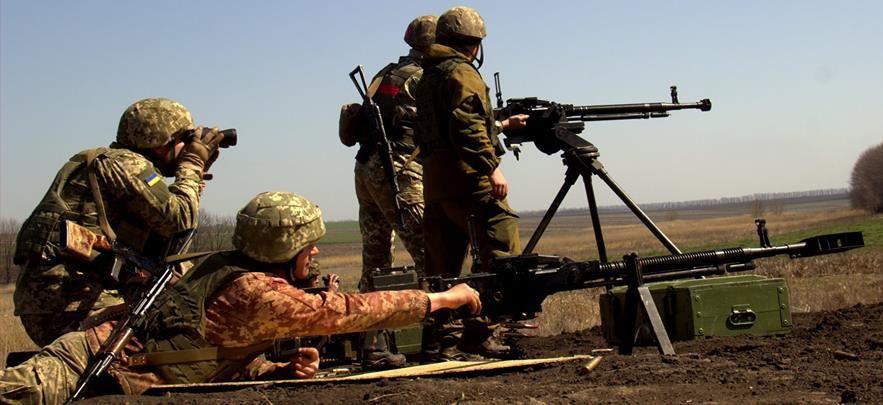 Боевики стреляли из запрещенного оружия