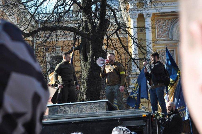 В Черкассах задержали главу отделения Нацкорпуса - у активистов проводят обыски