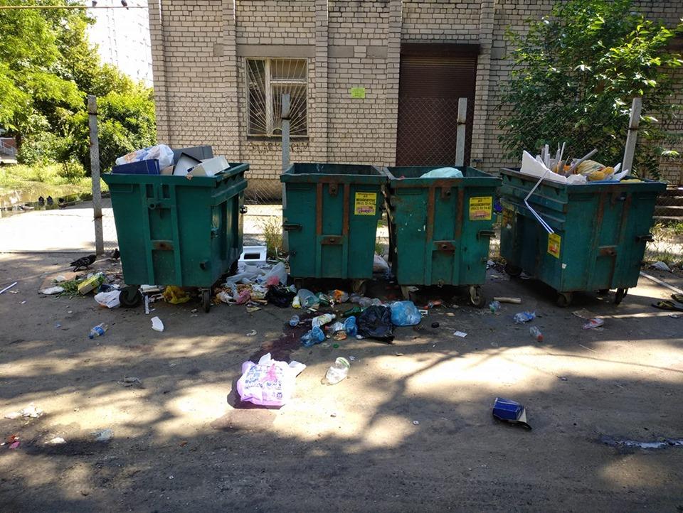 Николаевцы возмущенны мусорной свалкой по пр. Центральному