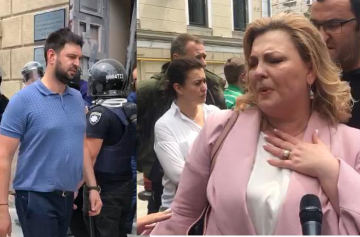 Сотрудники ОНМедУ с позором выгнали из ректората рейдеров Дубинину и Макарьяна