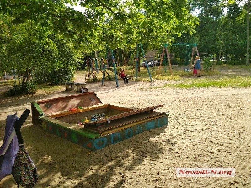 В Николаеве на детской площадке обнаружили боевую гранату