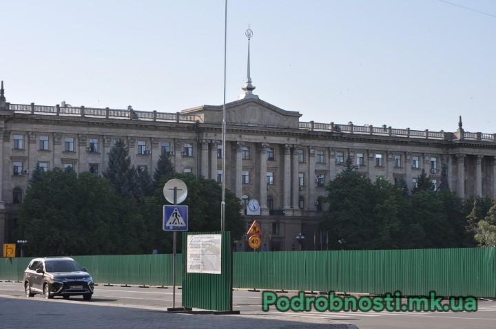 Госаудитслужба проверяет законность финансирования реконструкции Соборной площади в Николаеве