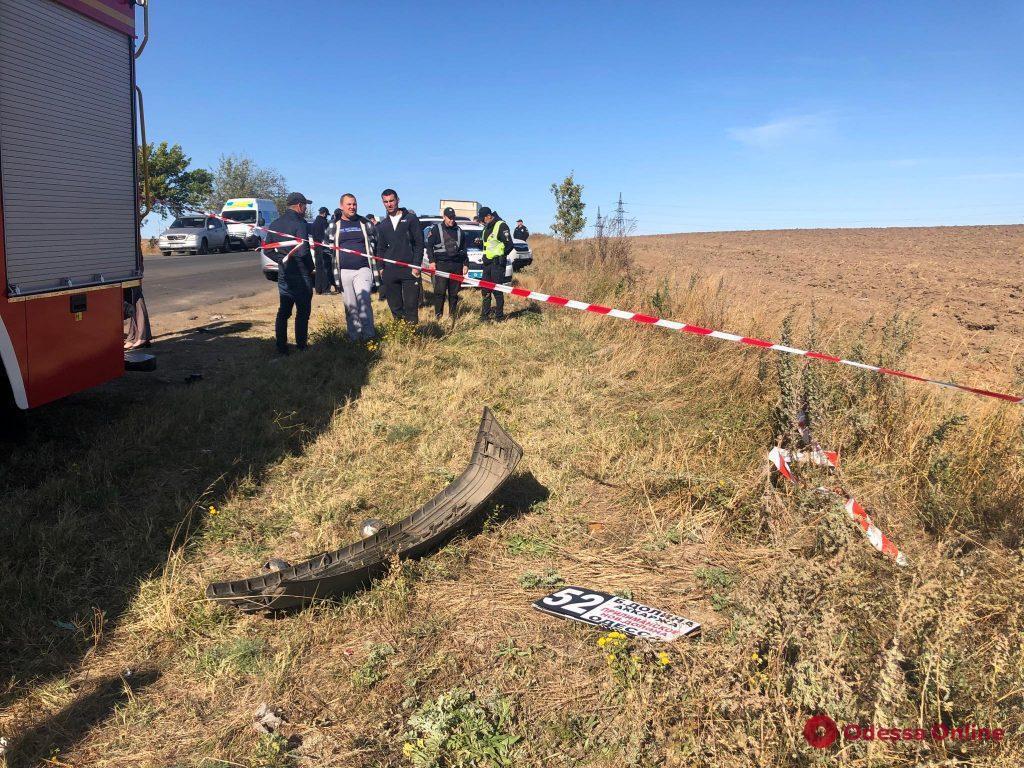 Под Одессой в ДТП с маршруткой погибли 9 человек
