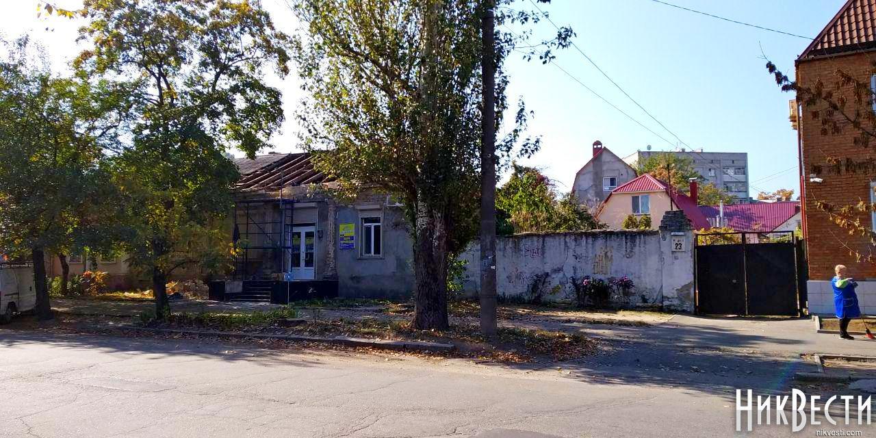 В Николаеве незаконно ремонтируют исторический дом на Наваринской