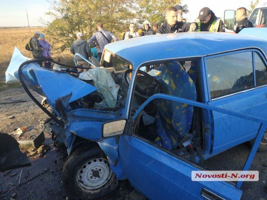 Стали известны имена всех пострадавших во вчерашней смертельной аварии под Николаевом