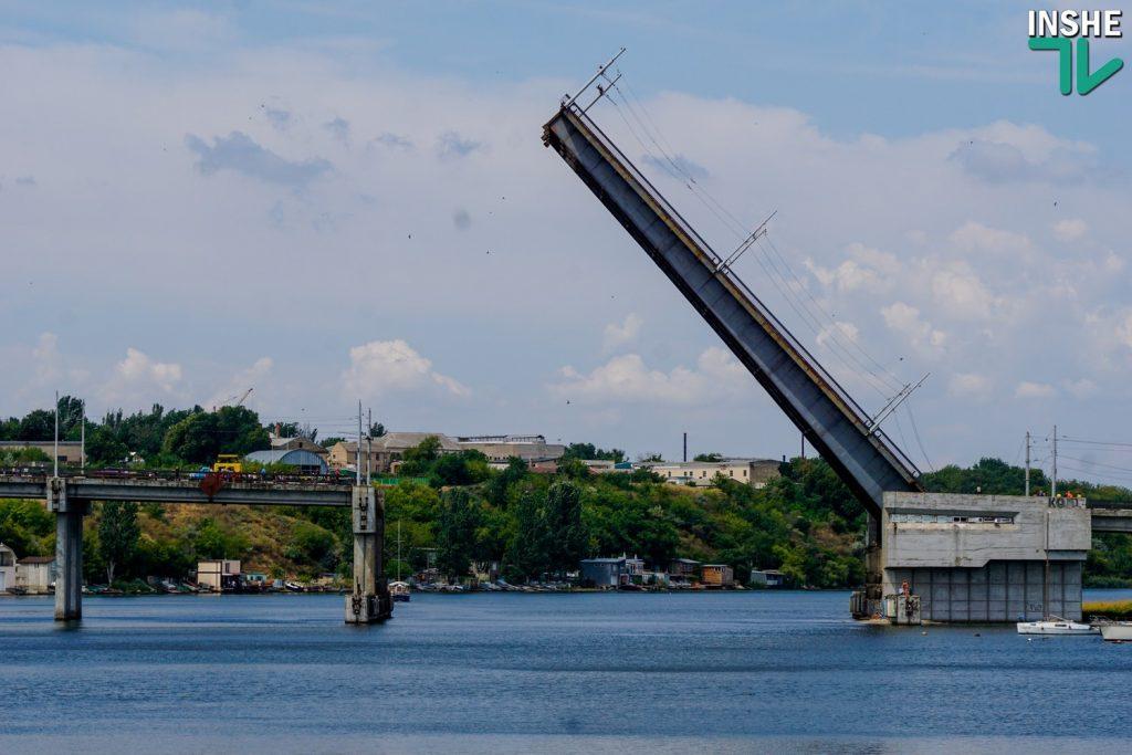 26 ноября в Николаеве разведут три моста