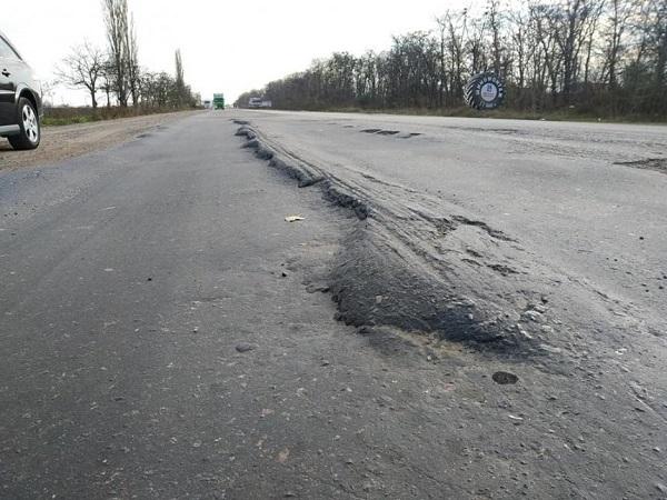 Активисты дали власти две недели на ремонт трассы «Николаев-Херсон»