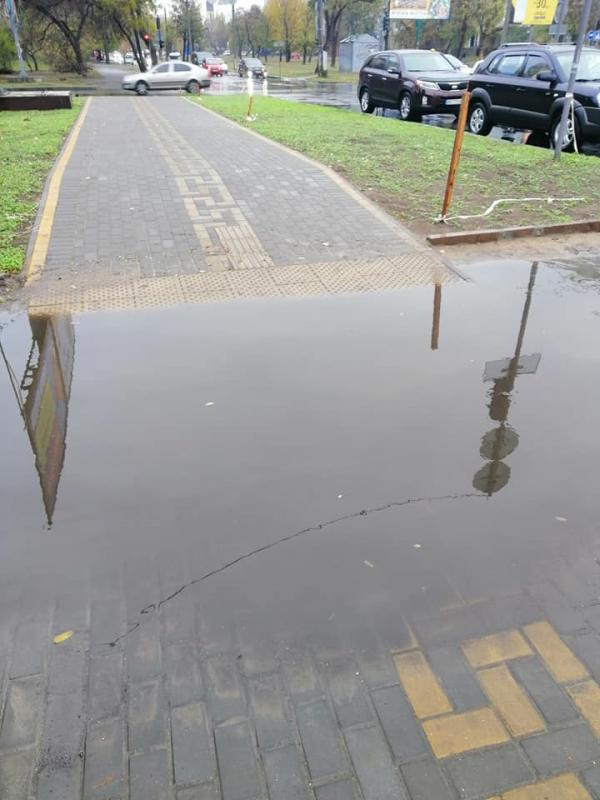 Новый тротуар или мини-бассейн?