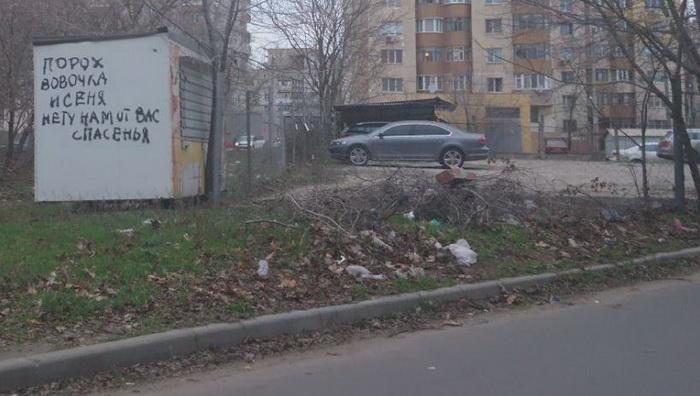 Жители Корабельного района возмущены грязными улицами