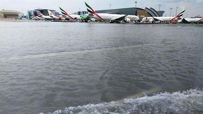 Наводнение в Дубае
