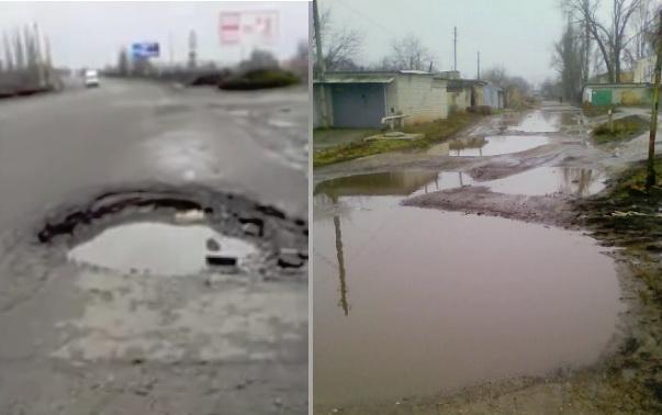 Жительница Корабельного района жалуется на отсутствие уличного освещения и плохую дорогу