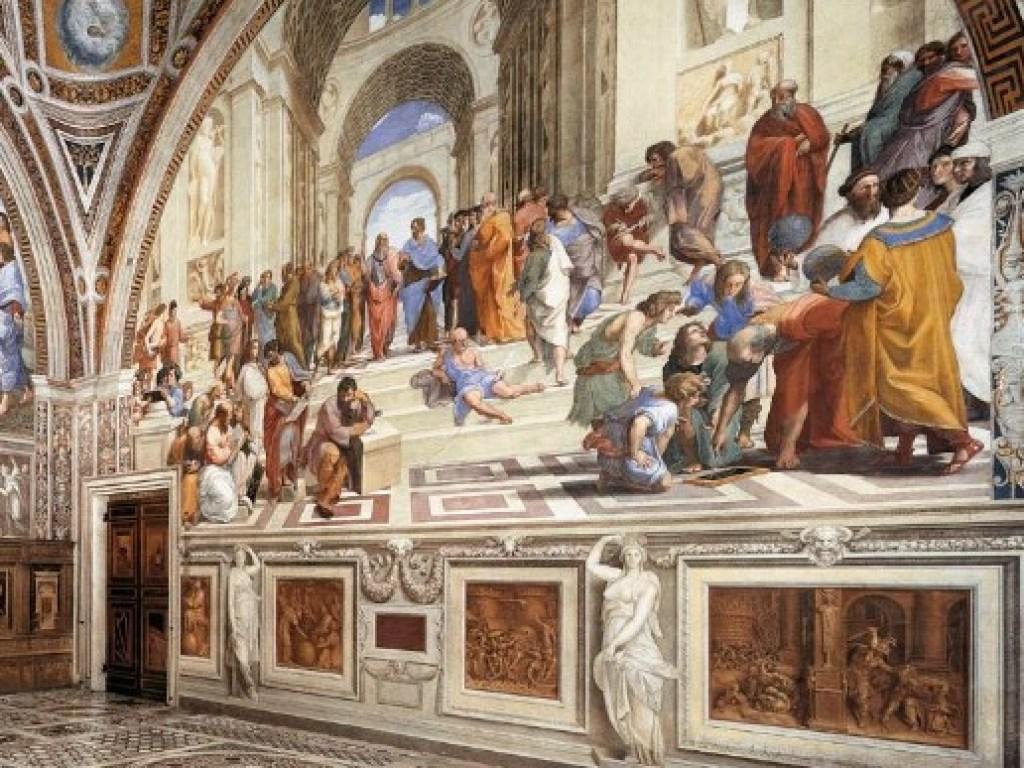 Две туристки из Украины повредили уникальную фреску в парадном зале Апостольского дворца в Ватикане