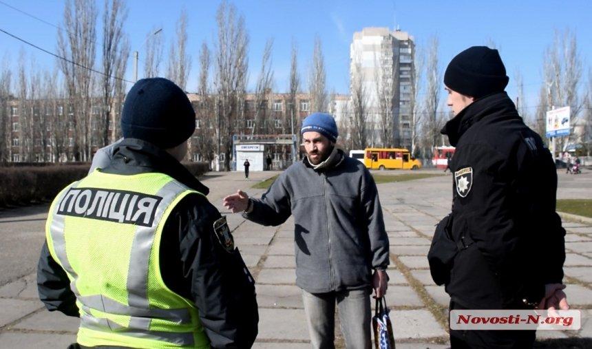 В Николаеве конфликт между жителем и сотрудниками КП из-за парка «Лески»: «разборки» разнимает полиция